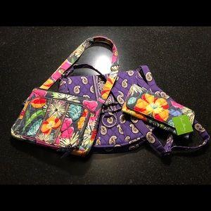 Bundle of 3 NEW Vera Bradley bags & wallet